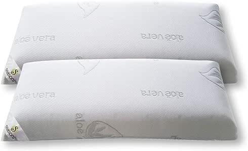 Seasons-Pack 2 almohadas viscoelasticas 70 cms, Antiácaros y ...