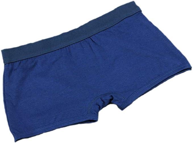 BaronHong 100% algodón Pure Color Boyshort 3 Pack Calzoncillos Boxer para Tomboy Trans Lesbian: Amazon.es: Ropa y accesorios