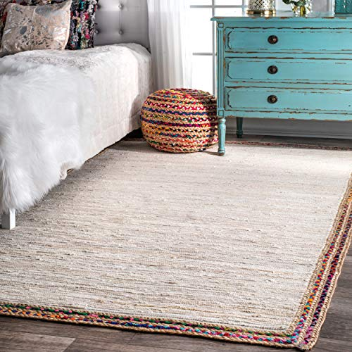nuLOOM HMDS01B Handwoven Braided Darline Rug 3