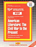 American Literature : The Civil War to the Present, Rudman, Jack, 0837355036