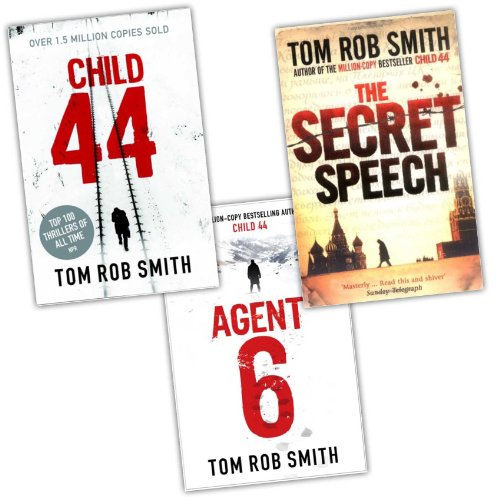 Tom Rob Smith 3 Books Collection Pack Set