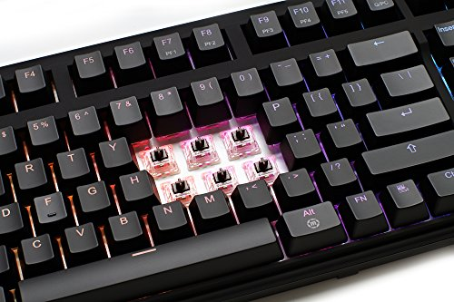 Max Keyboard Nighthawk Pro X Programmable Mechanical Keyboard, Backlit Multicolor LED, Cherry MX RGB Brown Switch by Max keyboard (Image #6)
