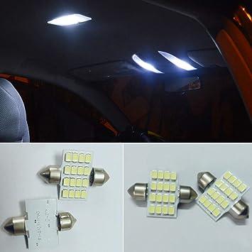 Festoon - Bombilla LED para coche (31 mm, C5 W, 31 mm,