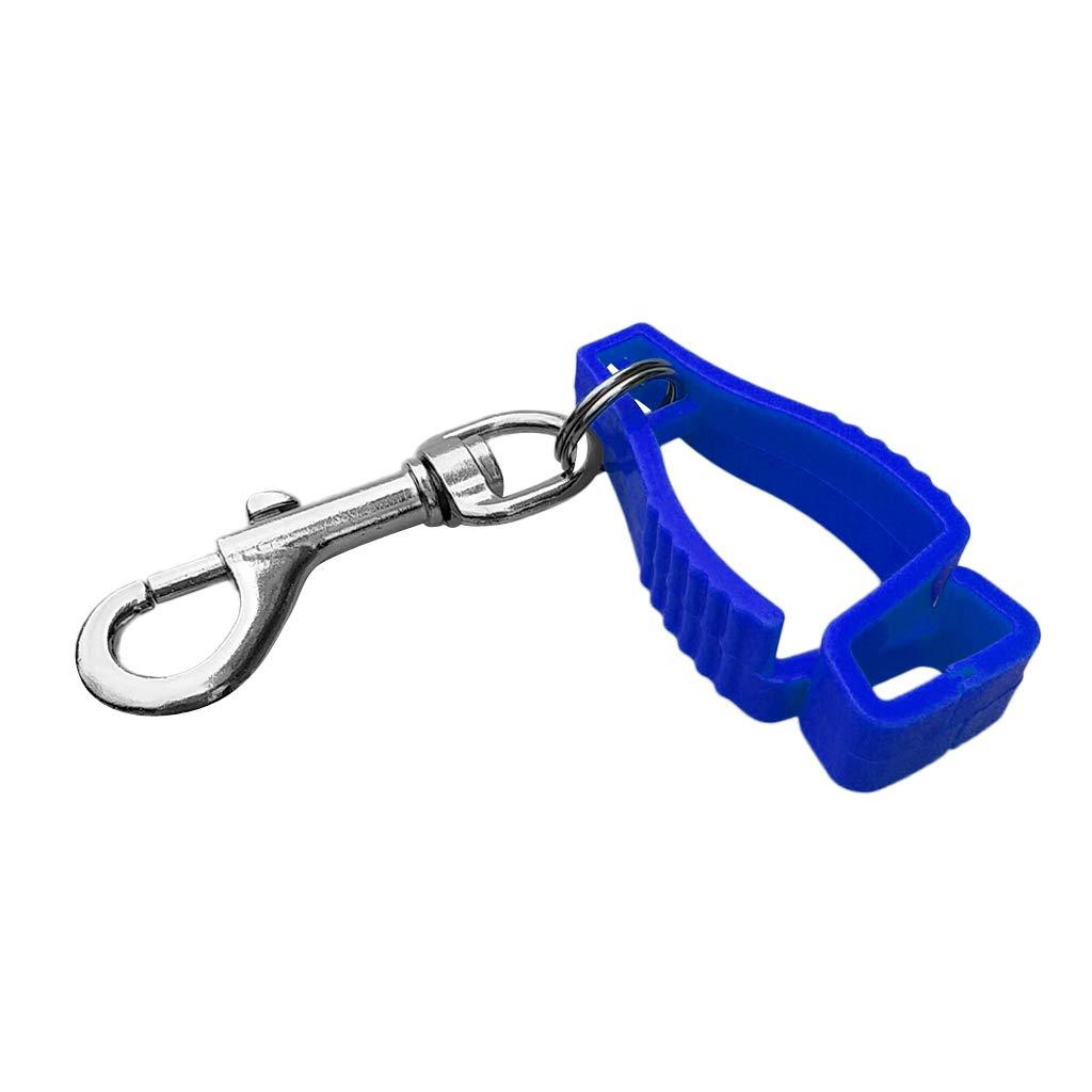 Premium Handschuhhalter Handschuhclip Handschue Clip Karbainerhaken für Schutzhandschuhe Arbeitshandschuhe - Schwarz Non-brand