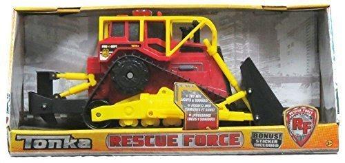 clásico atemporal Tonka Rescue Force Fire Dept Dept Dept Bulldozer Lights - Sound by Tonka  aquí tiene la última