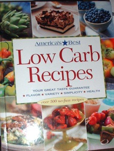 America's Best Low Carb Recipes pdf epub