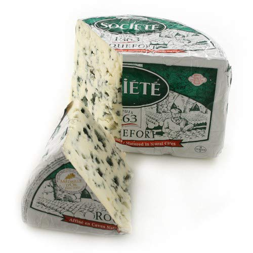 Roquefort, Societe Sheep's Milk Cheese (Whole Wheel Approximately 3 Lbs)
