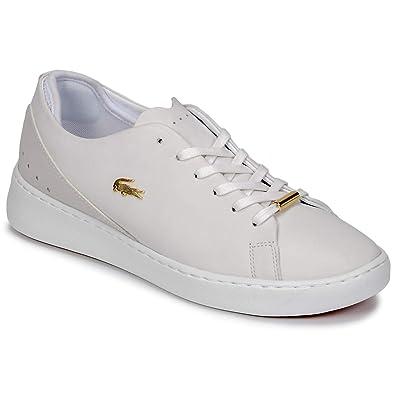 half off 45ee6 daa64 Lacoste EYYLA 318 2 Sneaker Damen Weiss - 41 - Sneaker Low ...