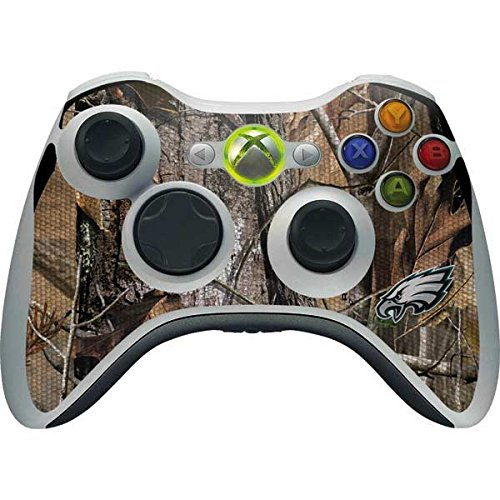 Skinit NFL Philadelphia Eagles Xbox 360 Wireless Controller Skin - Philadelphia Eagles Realtree AP Camo Design - Ultra Thin, Lightweight Vinyl Decal Protection