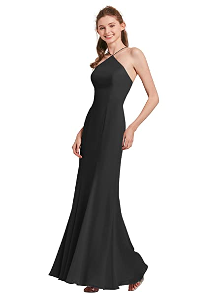 AW Mermaid Long Evening Formal Prom Dresses for Women Plus ...