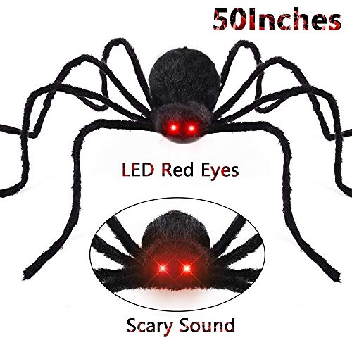 FLY2SKY Halloween Spiders 50