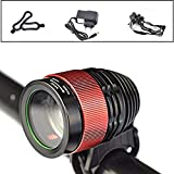Best Bicycle Lights 1200 Lumens Rechargeables - Bike Lights USB Rechargeable, Waterproof LED Front Bicycle Review
