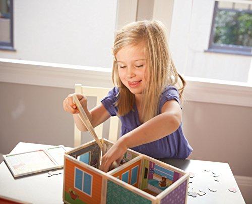 Build & Imagine: Malia's House (award-winning magnetic dollhouse you design yourself) by Build & Imagine (Image #8)