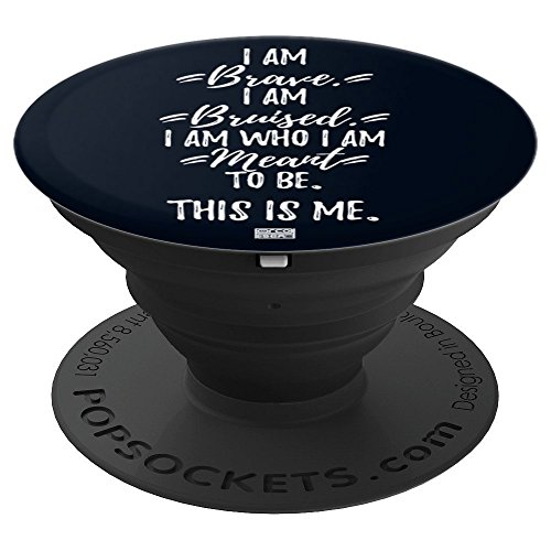 BRAVE THIS IS ME PROUD MUSICAL THEATRE PERFORMER - PopSockets Grip and Stand for Phones and Tablets
