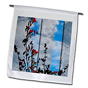 Jos Fauxtographee Real Art - Some beautiful orange flowers with layers - 18 x 27 inch Garden Flag (fl_98247_2)
