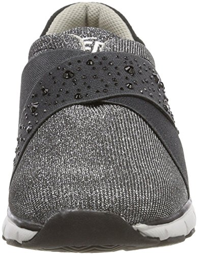 Zapatillas Bruetting Unisex Schwarz Elite Negro Comfort Silber Adulto Silber Schwarz q11fwEW