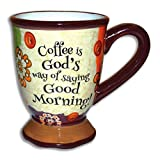 Divinity Boutique 23659 Coffee Ceramic Mug, Multicolor