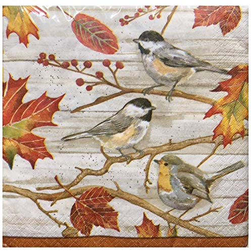 Craftmaster Birds on a Branch Paper Luncheon Napkins (0239), 36 ct ()