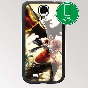 Fairy Tail Manga Samsung Galaxy S4 SIV I9500 TPU Case Cover (#1 Black)