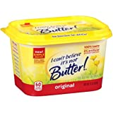 I Cant Believe Its Not Butter Original Yellow Spread, 15 Ounce - 12 per case.