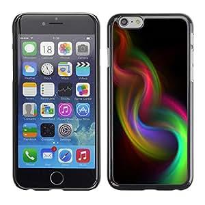 TopCaseStore / la caja del caucho duro de la cubierta de protección de la piel - Weave Purple 420 - Apple iPhone 6 Plus 5.5