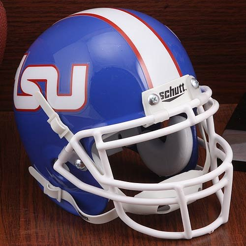 Mini Helmet Replica Tennessee (Schutt NCAA Mini Authentic XP Football Helmet, Tennessee State Tigers)