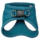 Voyager Step-in Air Dog Harness - All Weather Mesh, Step in Vest Harness for Small and Medium Dogs by Best Pet Supplies - Turquoise (Matching Trim), S
