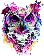 Dybjq Full Needlework DIY Diamond Painting owl Drawing Drill Fashion Particles Home Decoration Animal 40x50cm