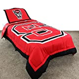 College Covers North Carolina State Wolfpack Reversible Comforter Set - Twin