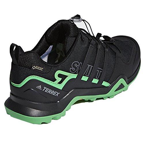 Adidas Outdoor Mannen Terrex Swift R2 Gtx Schoen Zwart, Zwart, Energie Groen