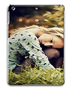 iPad Air Nice Girl Photography PC Custom iPad Air Case Cover Black