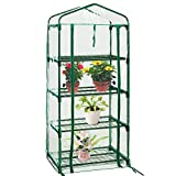 Quictent 27x19x63in Mini Greenhouse, 4 Tier Portable Garden Greenhouse - Growing Plants & Seeds