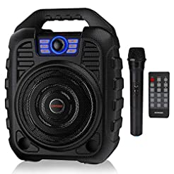 EARISE T26 Portable PA System Bluetooth ...