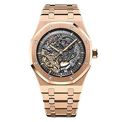 Audemars Piguet AP Royal Oak Double Balance Wheel Openworked Rose Gold Watch 15407OR.OO.1220OR.01 from Audemars Piguet
