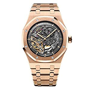 Audemars Piguet AP Royal Oak Double Balance Wheel Openworked Rose Gold Watch 15407OR.OO.1220OR.01