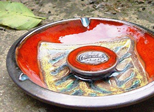 Ceramics and Pottery Ash Tray, Smoking Tray, Kitchen Decor