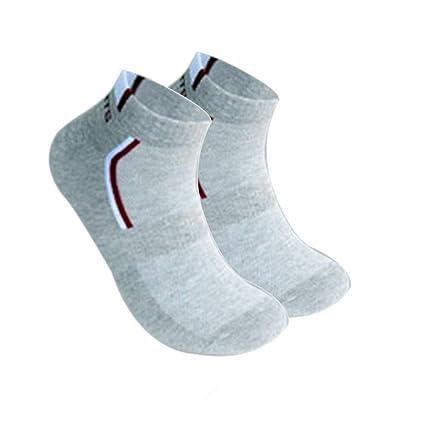 Mengonee 5pcs Hombres Adultos Deporte Malla Transpirable Calcetines de algodón poliéster de Primavera y Verano Calcetines