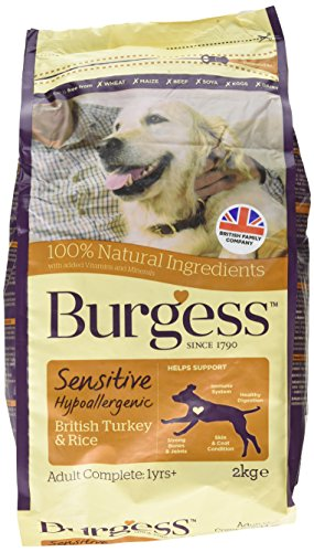 Burgess Sensitive Hypoallergenic Dog Food Adult...