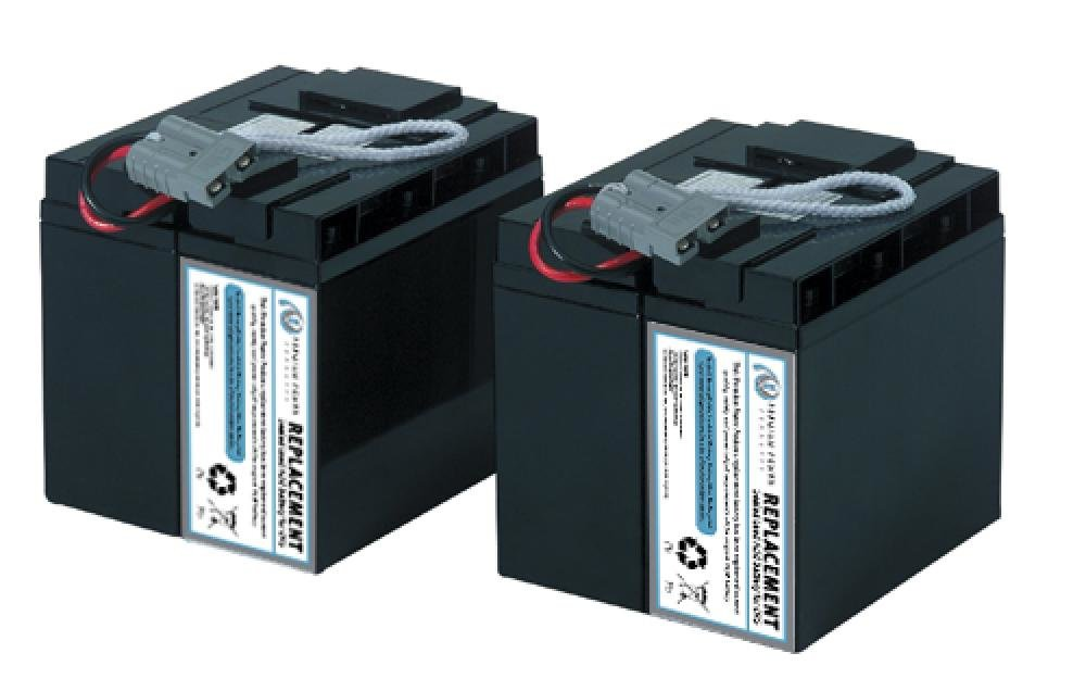 Ereplacement SLA55-ER Sealed UPS Battery, Black