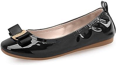 Amazon.com | Always Pretty Girl's Flexible Slip-on Dress Ballet Flats Dress  Shoes Princess Shoes (Little Kids/Little Girls) | Flats
