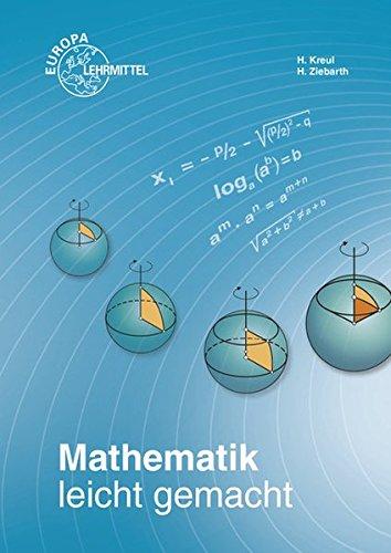 Mathematik leicht gemacht