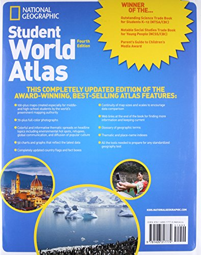 National Geographic Student World Atlas, Fourth Edition: Your Fact-Filled Reference for School and Home! by imusti (Image #1)