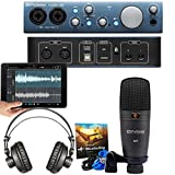 Presonus AudioBox iTwo Studio Complete Mobile Hardware/Software Recording Kit