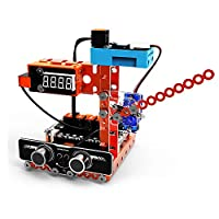 WeeeMake DIY Smart RC Robot Kit Programmable Home Inventor Kit Weather Station Rainbow Color Lamp Magical Musician