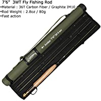 AnglerDream Archer Fly Fishing Rod 4 Section 3/4 / 5 /...