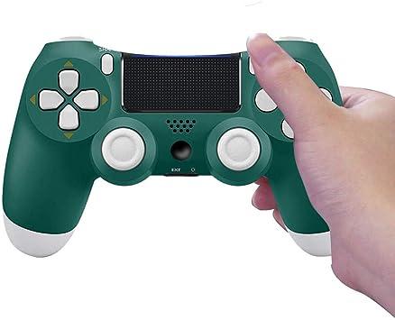 PS4 Controller, Wireless Gamepad Controller Dualshock Bluetooth Wireless Game Controller for Playstation 4 (Green): Amazon.es: Electrónica
