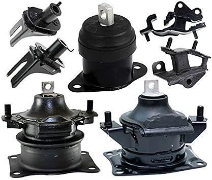 Acura TSX 2004-2008 2.4L Auto Trans Kit 7 PCS Motor Engine /& Trans Mounts Fits