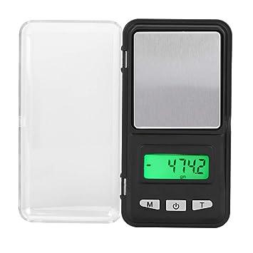 Básculas de cocina Balanza electrónica digital de 200 g / 0,01 g Balanza de pesaje de frutas Escalas pequeñas: Amazon.es: Hogar
