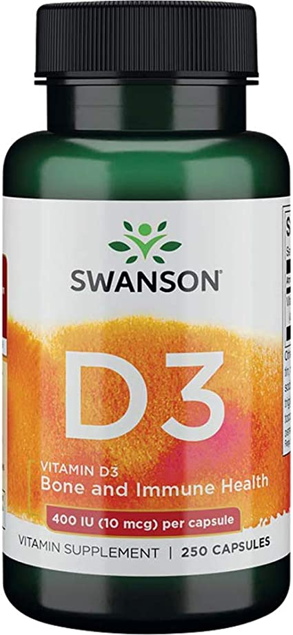 Swanson Vitamin D3-250 Softgels