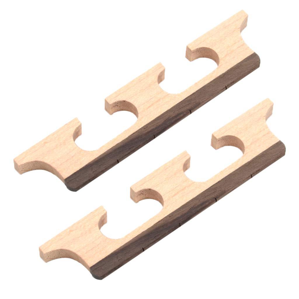 FLAMEER 2 St/ücke 4 String Banjo Palisander Br/ücke F/ür Banjo Ersatzteile